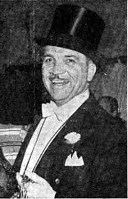 Col. Harry Thomas circus ringmaster