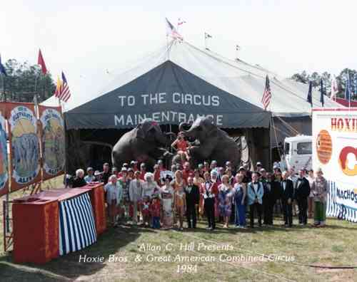 Hoxie's Great American Circus 1984