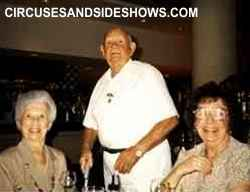 Hoxie Tucker with Edna Antes and Mary JO Couls