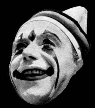 Circus clown Jackie Leclarie