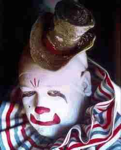 Jimmy James circus clown