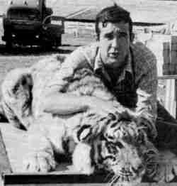 John Lewis with Tiger