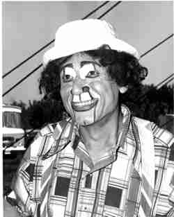Jose Diaz circus clown