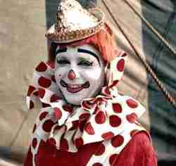 Circus Clown Kenny Dodd