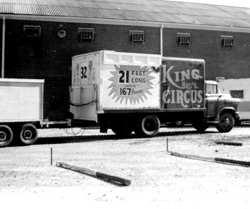Circus snake show