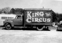 Circus gilly wagon