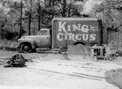Circus cooks house