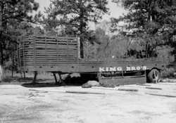 King Bros pole wagon