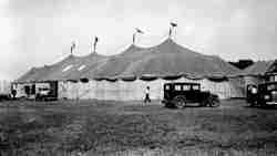 Lewis Bros circus tent