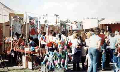Lewis Bros Circus Sideshow 1985