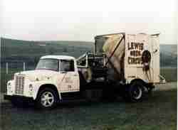 Lewis Bros Circus spool truck