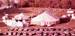 Lewis Bros Circus on lot