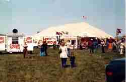 Lewis Bros Circus Midway
