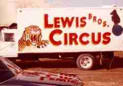Lewis Circus Truck