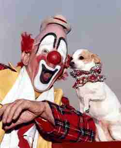 Lou Jacobs and his dog Knucklehead