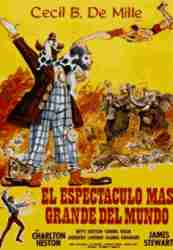 Greatest show on Earth poster in spanish