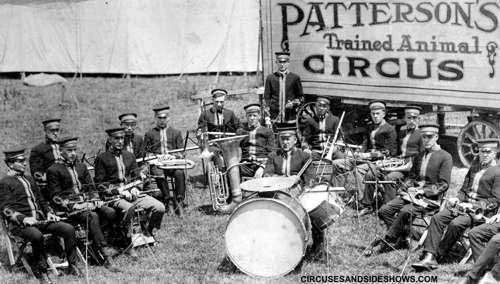 Patterson Circus Band 1922