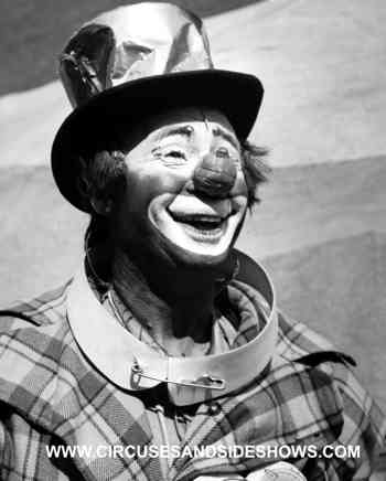 Paul Jerome circus clown