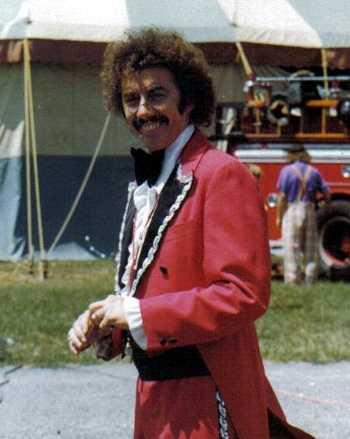 Phil Chandler Circus Ringmaster