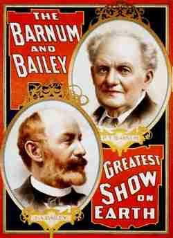P T Barnum Poster