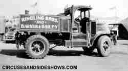 Ringling show truck