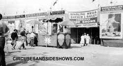 Ringling Bros Circus Sideshow