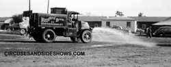 Ringling Bros Barnum Bailey water wagon