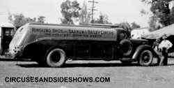 Ringling fuel truck
