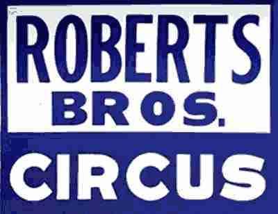 Roberts Bros Circus