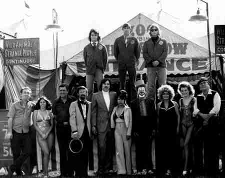 Roger Boyd Jr Clyde Beatty Cole Bros Circus Sideshow 1974