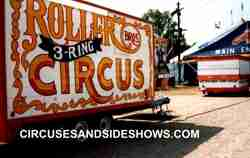 The Roller Bros. Circus Midway