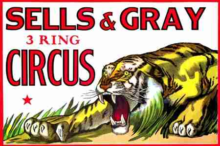 Sells and Gray Circus