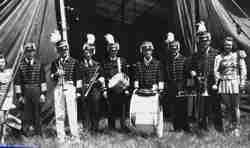 Circus band Sparks Bros Circus