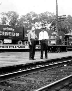 Sparks Bros Circus Train