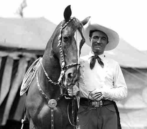 Actor Tom Mix