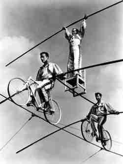 Wallenda high wire act