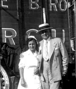 Zack Terrell and circus nurse
